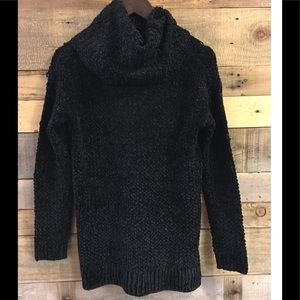 Women's BB Dakota Black cowl neck sweater XS